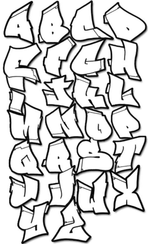 jofallon graffiti letters alphabet