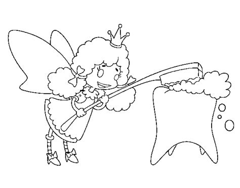 coloring page of tooth fairy tooth fairy coloring page coloringcrew com