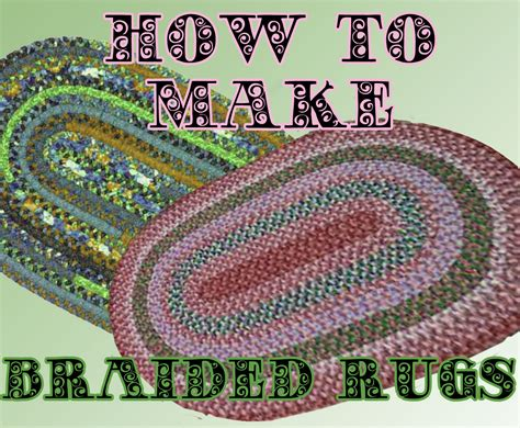 how to sew a rug braided rug for you to make pdf pattern easy to follow