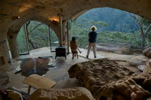 Arched Cabins Lionel Buckett S Cave House In Berambing In The Blue