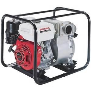 Honda Pumps Honda Self Priming Construction Trash Water 3in
