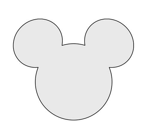 template mickey mouse 5 quot h string mickey mouse pattern template string