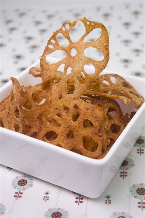 fried lotus root chips asian recipes