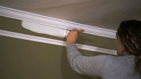 diy faux crown molding knock
