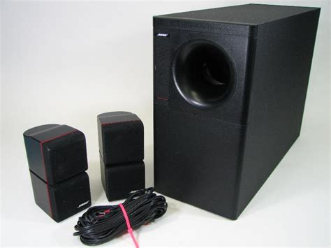 bose acoustimass 7 home theater speaker system subwoofer 2