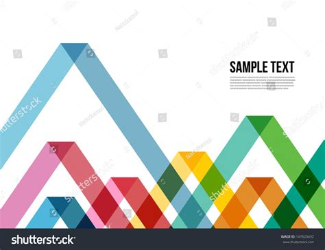 triangle pattern name abstract colorful triangle pattern background cover stock