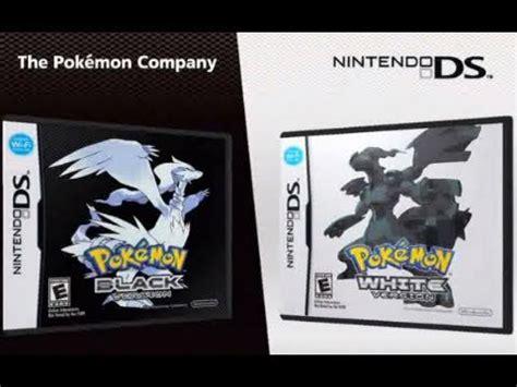 pokemon black reset game pokemon black and white official english trailer youtube