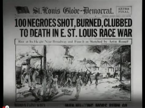 map st louis riots east st louis race riot school project
