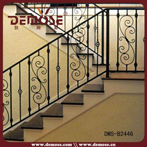 Iron Grill Design For Stairs with Residential Wrought Iron Stair Railing Balustrade Grill Design Buy Wrought Iron Stair Railing