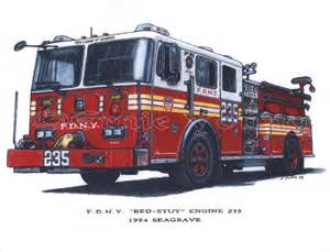 Bed House Ernie Young Fdny Engine 235