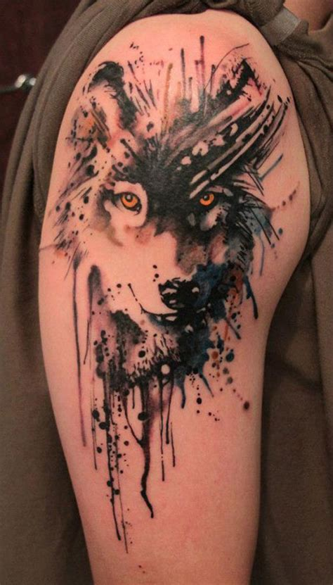 magnificent wolf tattoo designs amp ideas inkdoneright