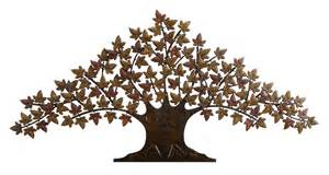 new lone tree metal wall decor sculpture 24 x48 ebay