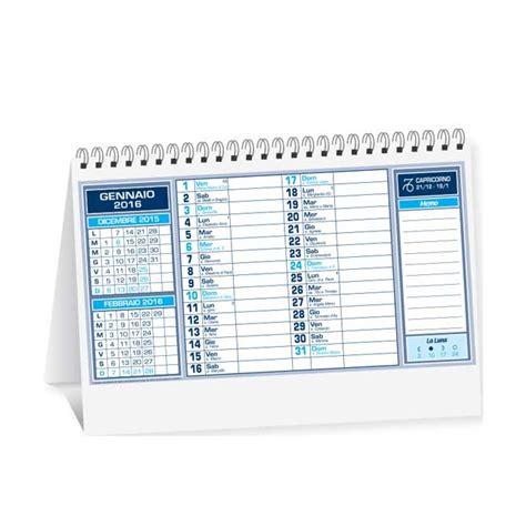 calendari da scrivania stasi calendari da tavolo 2017 personalizzati