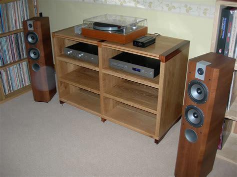 Dark Wood Storage Cabinet Hold The Music Bespoke Hi Fi Gallery