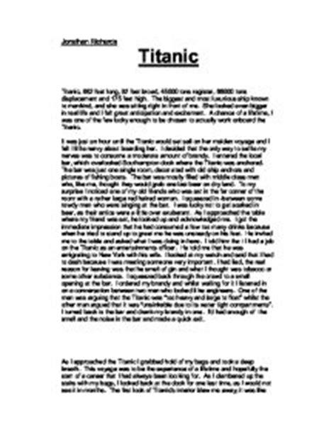 Titanic Essays by Titanic Journey Essay Druggreport246 Web Fc2