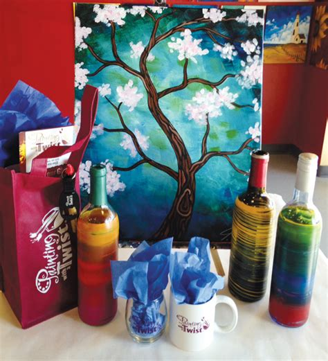 paint with a twist nlr ar chenal valley shopping showcase rock soiree magazine