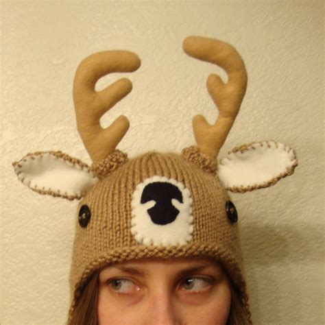 etsy knit hats deer knit hat bobcat hats by bobcathats on etsy