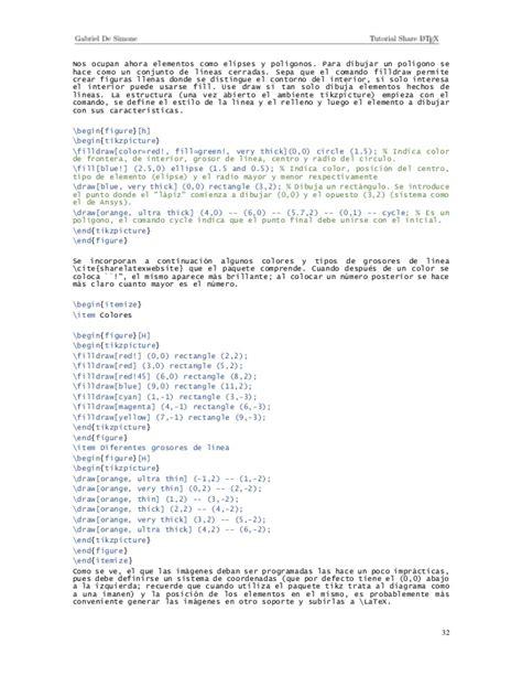 tutorial de latex en español tutorial share latex
