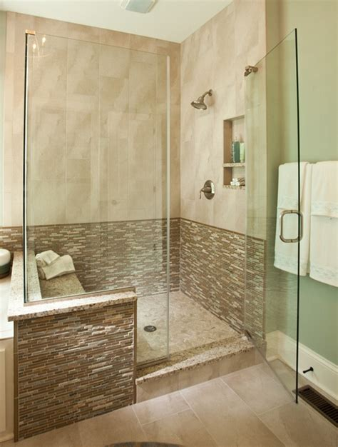 custom walk in showers modern walk in shower inside the new custom model home by wedgewood building company in carmel