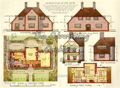 house plans 1920s the advertising archives magazine plate house plans 1920s