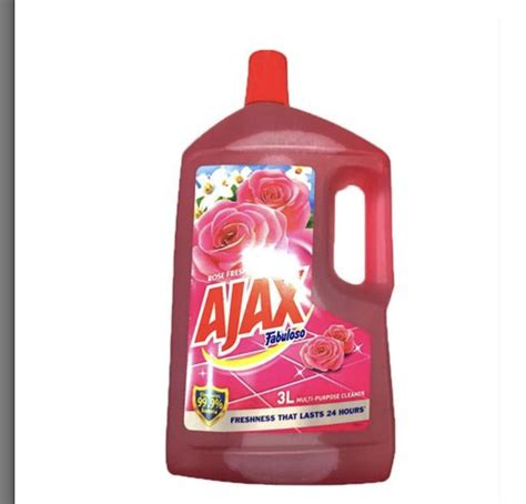 Floor Cleaner Pembersih Lantai Anti Bacterial Cair ajax fabuloso antibacterial fresh all purpose cleaner