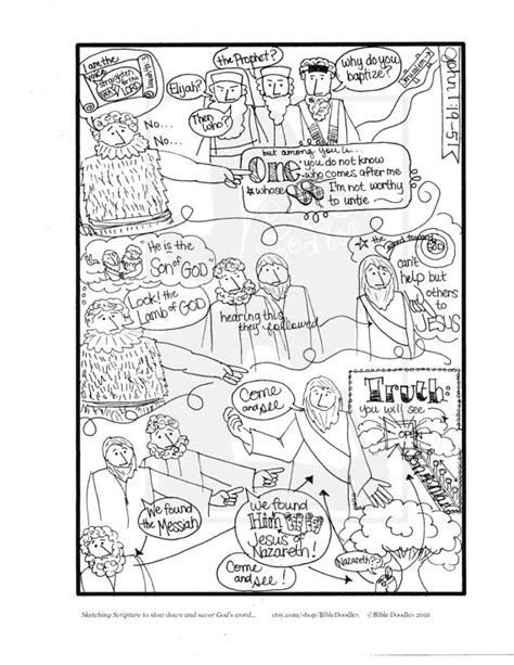 Bible Doodle Study Guide For 1 19 51 S