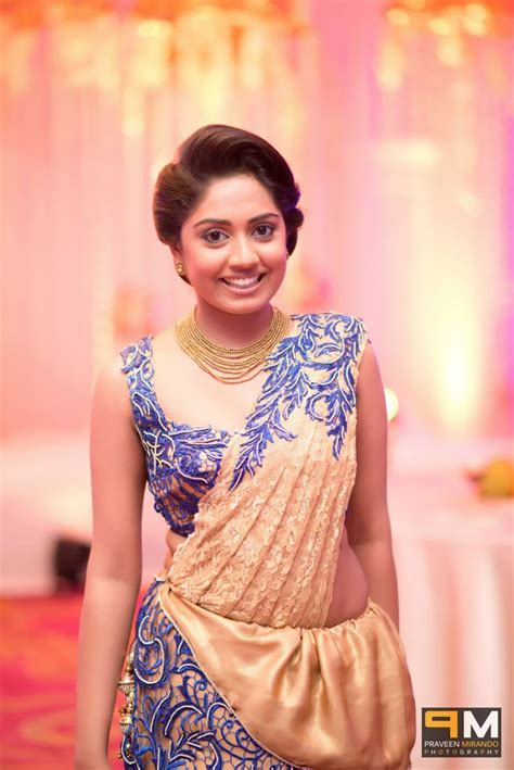 sri lankan actress saree designs 2018 sri lankan bridesmaid saree b s in 2019 pinterest