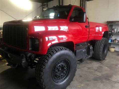 Sale Topi Trucker Custom custom built 1993 gmc topkick truck for sale