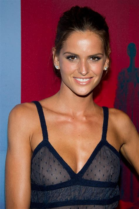 Most Revealing Wardrobe by Izabel Goulart See Through Dress Revealing Some Nips