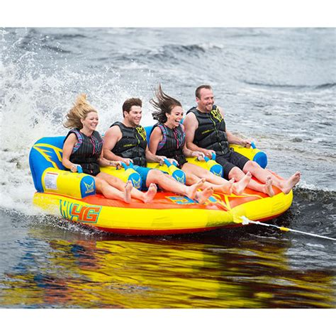 4 person boat tube ho sports 4g 4 person tube west marine