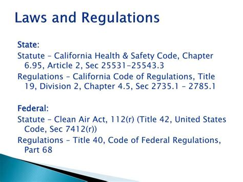 title 42 us code section 1983 ppt california accidental release prevention calarp