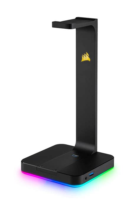 Headphone Corsair corsair st100 rgb premium gaming headset stand review