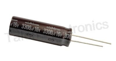 Elco Capasitor Ll 3300uf 16v radial electrolytic capacitors for sale talon electronics