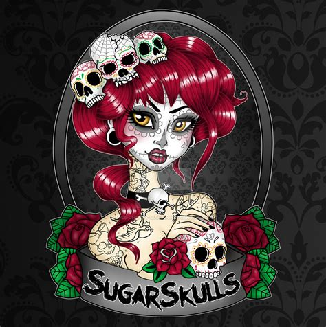 Kaos Bikers Pin Cor Ride Or Die sugarskulls store logo by miss cherry martini on deviantart