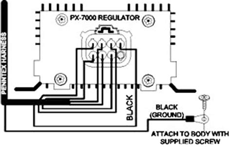 penntex alternator wiring diagram hitachi alternator