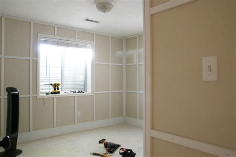 Adding Wainscoting To Walls by Adding Wainscoting To The Home Office Chris