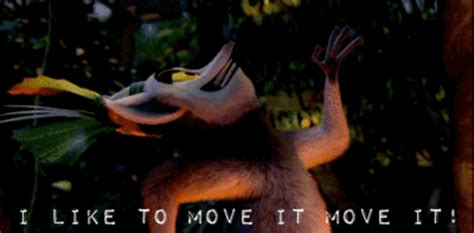 Lemur I Like To Move It Move It by I Like To Move It Gifs On Giphy