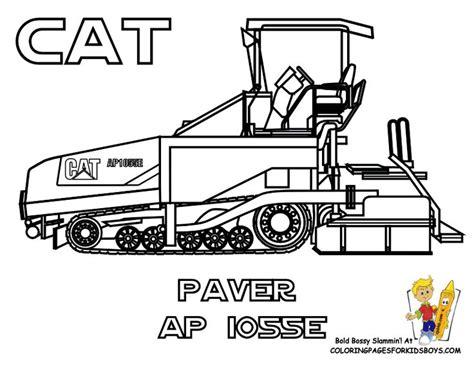 Asphalt 8 Coloring Pages by Construction Coloring Pages Of Tractors Cat Paver Ap