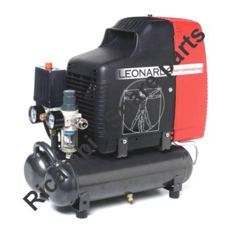 fiac spare parts for air compressor leonardo hp 1