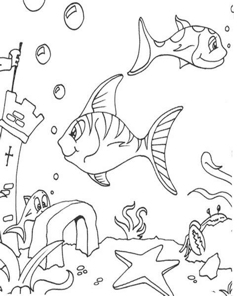 Contoh Gambar Ilustrasi Ikan | Hilustrasi