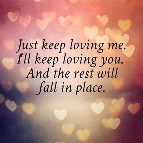 love quotes for him beautiful love quotes for him romantic love quote for him or for her quot just keep loving