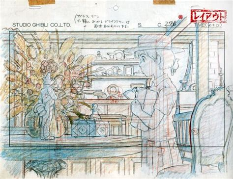 layout design animation from studio ghibli layout designs ghibli miyazaki