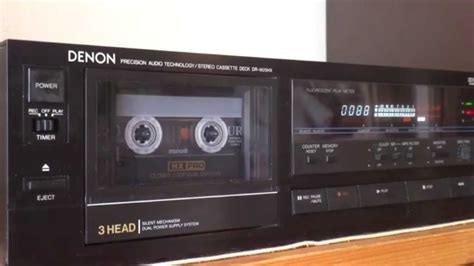 denon cassette deck but cool audio denon cassette deck dr m25hx