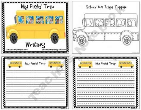Essay On Field Trip by Field Trip Writing Paper Writing Trips Paper And Fields