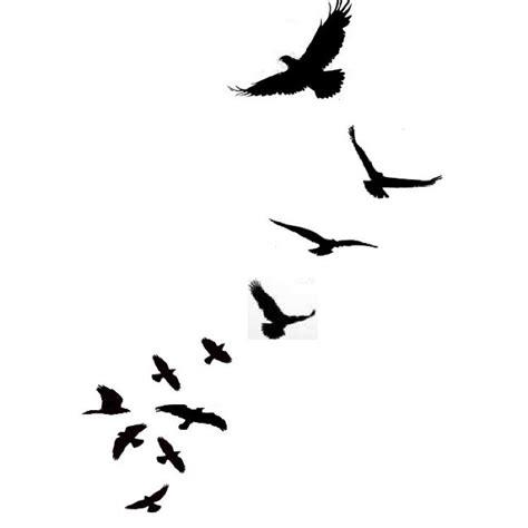 38 Unique Birds Tattoos Designs Bird Silhouette Shoulder