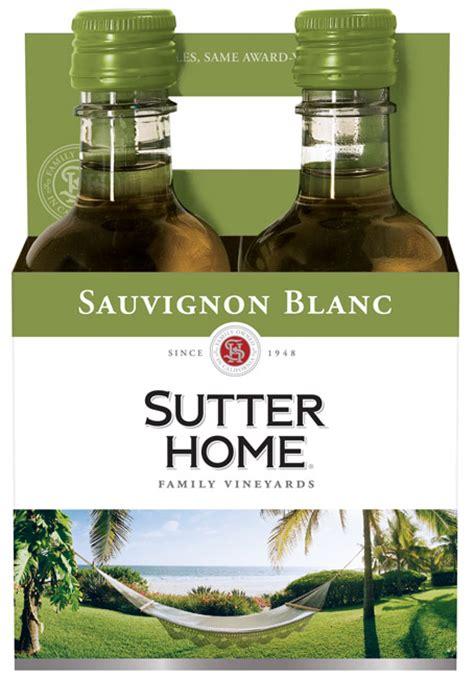sutter home sauvignon blanc 4 pack nv mid valley wine
