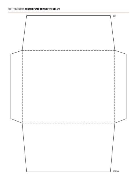 envelope templates word templatelab
