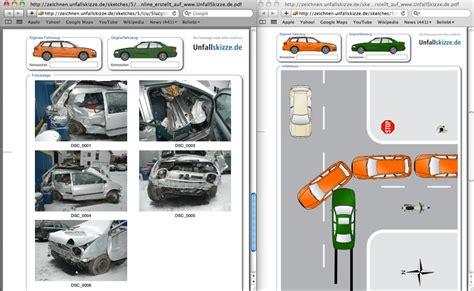 Kfz Versicherung Vergleich Continentale by Unfallbericht Verkehrsunfall Kfz Versicherung