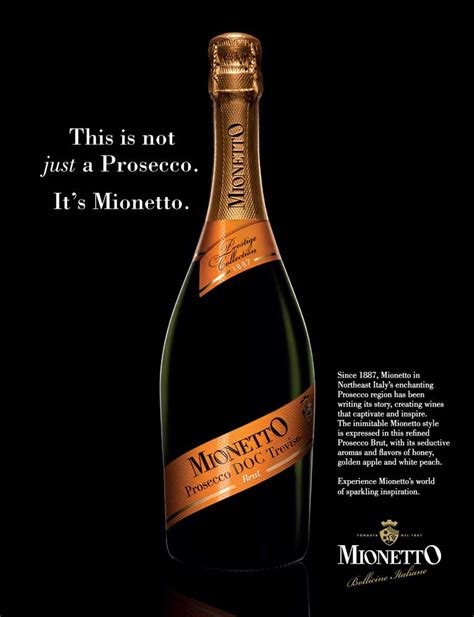 Not Just A by Advertising Mionetto