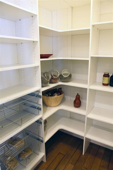 Kitchen Pantry Shelf Ideas pantry storage solutions classy closets